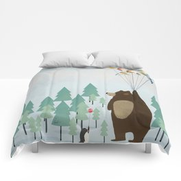 the astrology bear Comforters