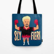 Sly Fieri Tote Bag