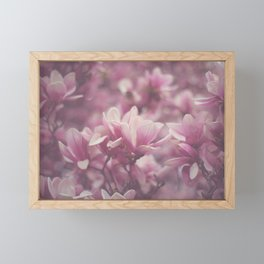 Pink Magnolia Framed Mini Art Print