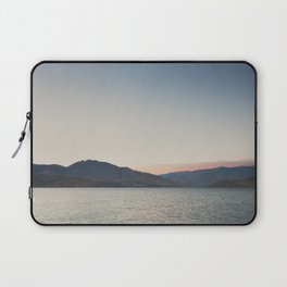 sunset over the lake ... Laptop Sleeve