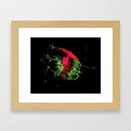 Colorful Splash Framed Art Print