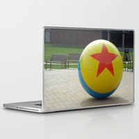 toy story Laptop & iPad Skins featuring Toy Story Ball by Jillian