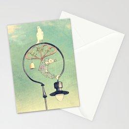 Glasgow Streetlamp Stationery Cards