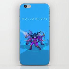 Hollowlove Everything Falls In Line iPhone Skin
