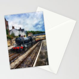 Steam Train Journey Stationery Cards