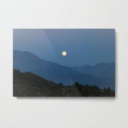 Rising of the Full Moon (California) Metal Print