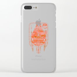 Falcon & the Rebel Clear iPhone Case