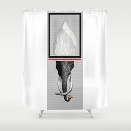 THE HOLY MOUNTAIN Shower Curtain