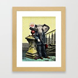 I Will Never Forget You! Framed Art Print