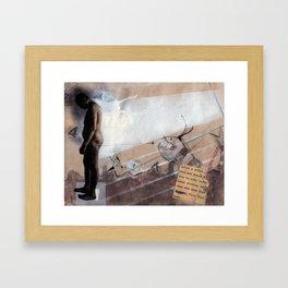 Plate F. Framed Art Print