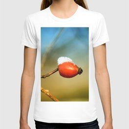 little rosehip with snowcap T-shirt