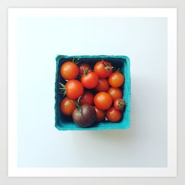 Cherry Tomatoes - CSA Series Art Print