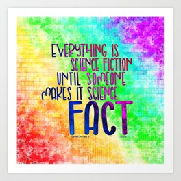 Science Fact (Warcross) Art Print