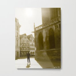 The skater France Metal Print