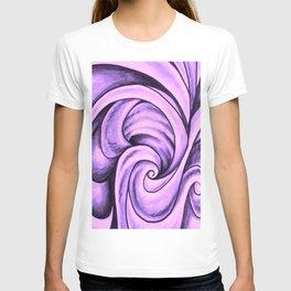 Swirl (NEON PINK) T-shirt