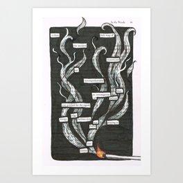 Four. Art Print
