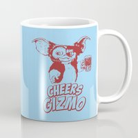 gizmo Mugs featuring Cheers Gizmo by Roma
