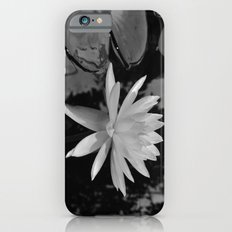 b&w water flower Slim Case iPhone 6s