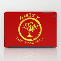 divergent iPad Cases featuring Divergent - Amity The Peaceful by Lunil