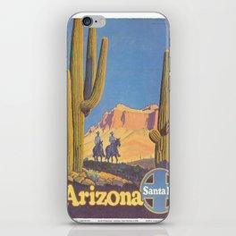 Vintage poster - Arizona iPhone Skin