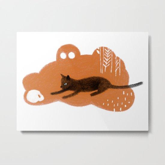 Cat's Dream Metal Print