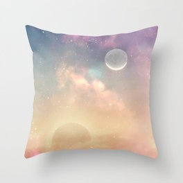Floating light Throw Pillow