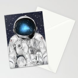 space adventurer Stationery Cards