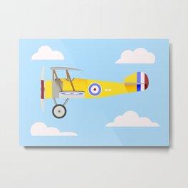 Airplane Poster Metal Print
