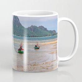 Three Boats Thailand Coffee Mug