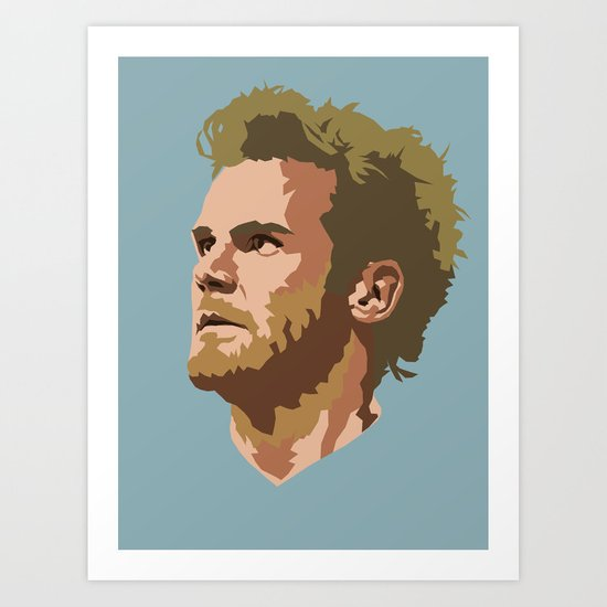 Juan Mata Art Print