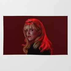 Laura Palmer from Twin Peaks Rug