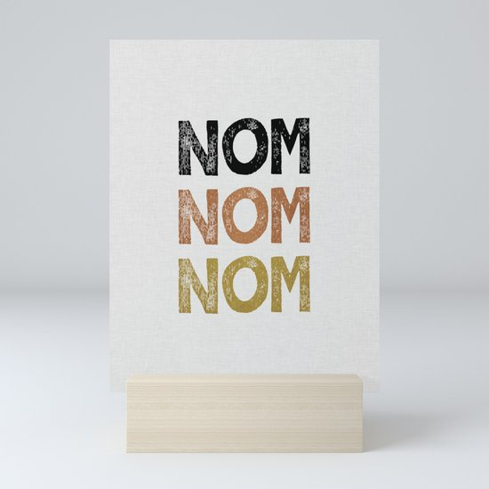 Nom Nom Nom by paperpixelprints