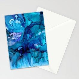 Blue Stream Stationery Cards