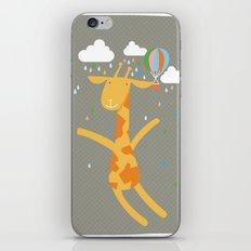 giraffe in the rain iPhone & iPod Skin