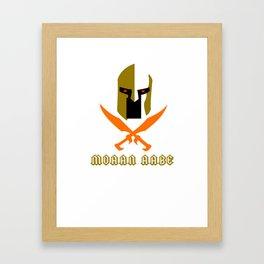 Molon labe Framed Art Print