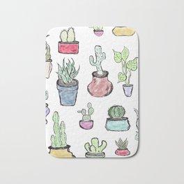 Plants and Cacti Bath Mat