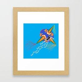 Chrismas Piñata Framed Art Print