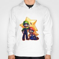 mario bros Hoodies featuring Mario Bros. by StephanieIllustrations