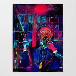 Altered Carbon - Poe Armed and Ready (Chris Conner) Poster