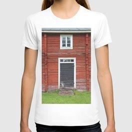 Old black cottage door T-shirt