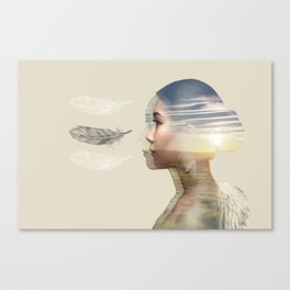 Weightlessness Canvas Print