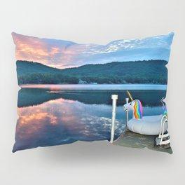 Unicorn Greets the Sun Pillow Sham