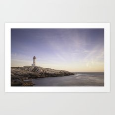 Peggy's Cove, Nova Scotia Art Print