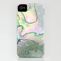 iPhone 4 Case featuring Shell Texture by Patterns and Textures