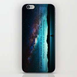 Live Differently iPhone Skin