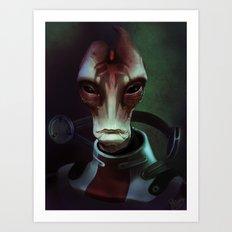 Mass Effect: Mordin Solus Art Print