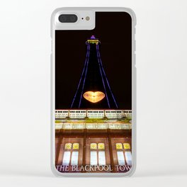 The Blackpool Tower Clear iPhone Case