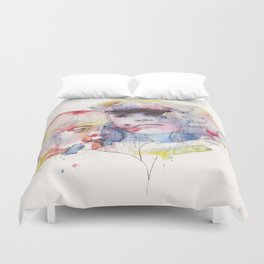 looking for you in my own color wave Duvet Cover