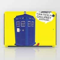 tardis iPad Cases featuring Tardis by Elizabeth A