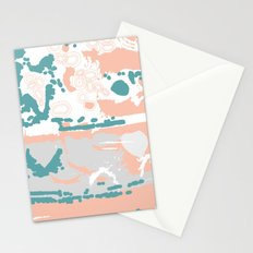 Pastel Pom Pom Stationery Cards